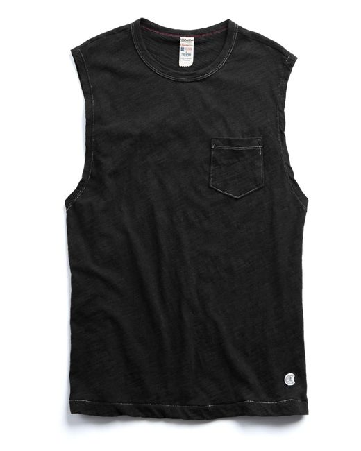 Todd Snyder - Muscle Tee In Black for Men - Lyst