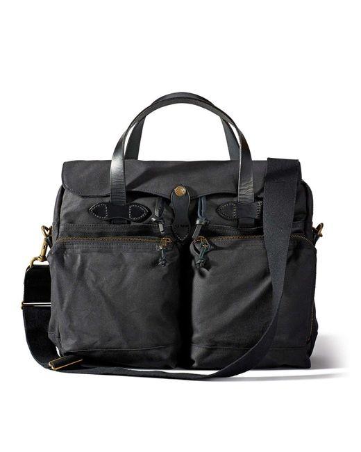 Filson - Black 24-hour Tin Briefcase for Men - Lyst
