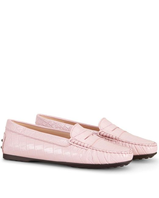 City Gommino Moccasins in Leather Tod's SYt39PrC