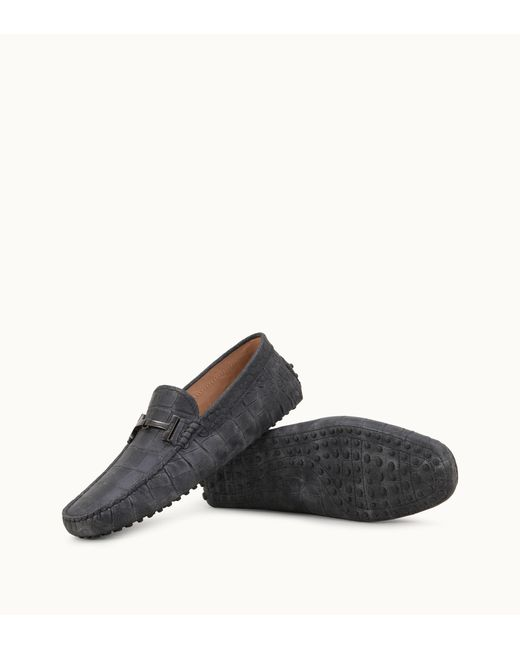 7f310d52a5f ... Lyst Tod s - Black Gommino Driving Shoes for Men ...