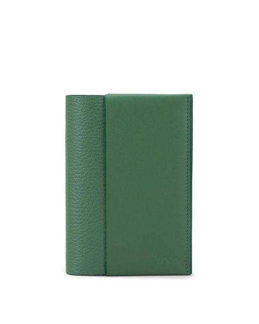 Tod's - Green Passport Holder for Men - Lyst