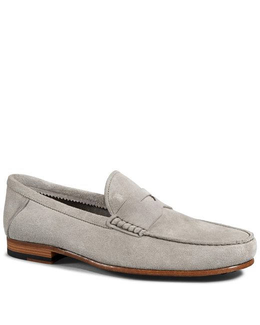 Tod's | Natural Loafers In Suede for Men | Lyst