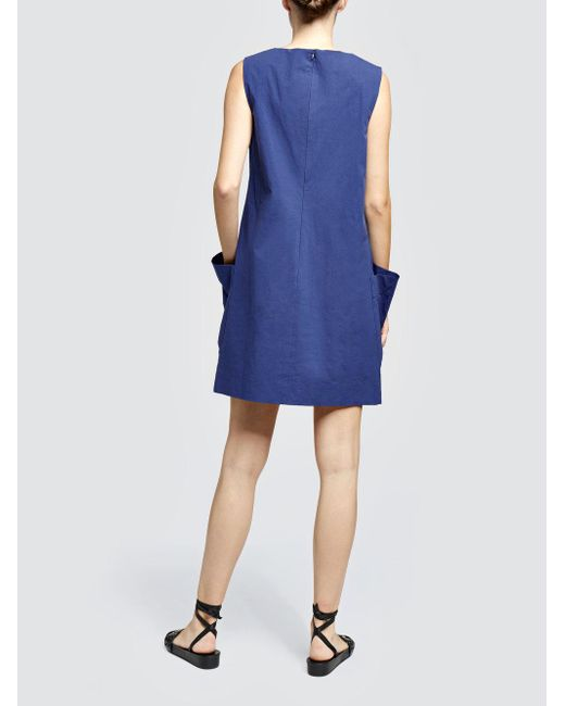 Cheap Websites sporty poplin dress - Blue Tomas Maier Amazing Price Cheap Online Purchase Cheap Price j17ZR5g