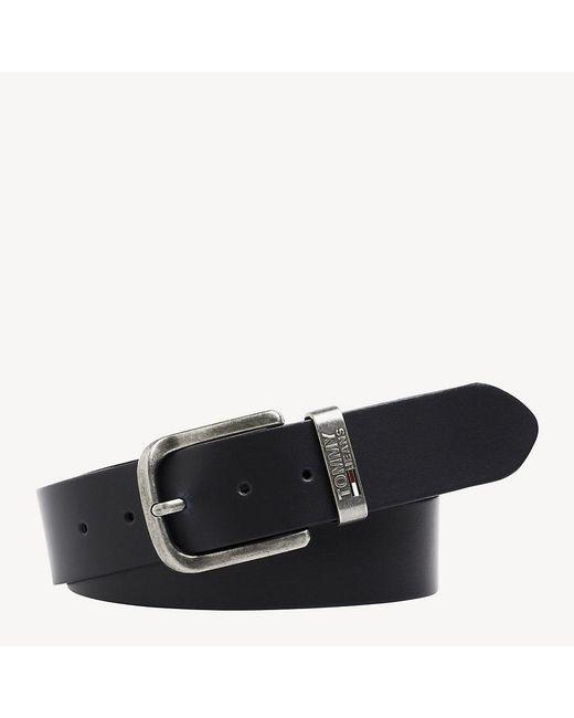 Tommy Hilfiger Leather Metal Loop Belt in Blue for Men - Lyst c8ce53e45d8