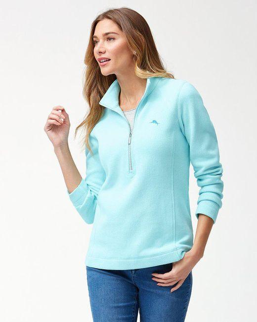 Tommy Bahama - Blue Aruba Half-zip Sweatshirt - Lyst