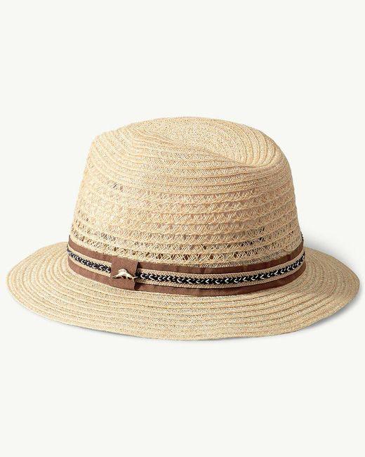 Tommy Bahama - Natural Hemp Braid Safari Hat - Lyst