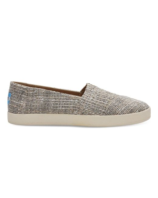 TOMS - Oxford Tan Multicolor Tweed Women's Avalon Slip Ons - Lyst