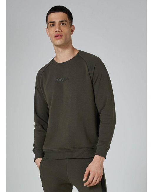 Jog On - Jogon Premium Green And Black Sweatshirt for Men - Lyst