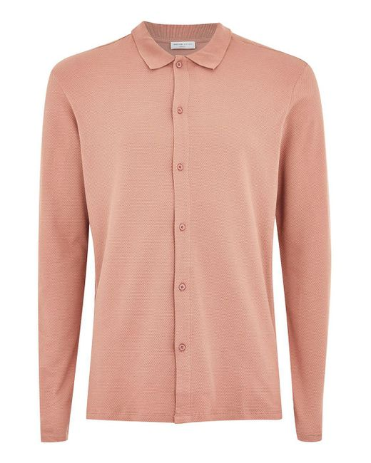 Topman - Elected Homme Pink Polo for Men - Lyst