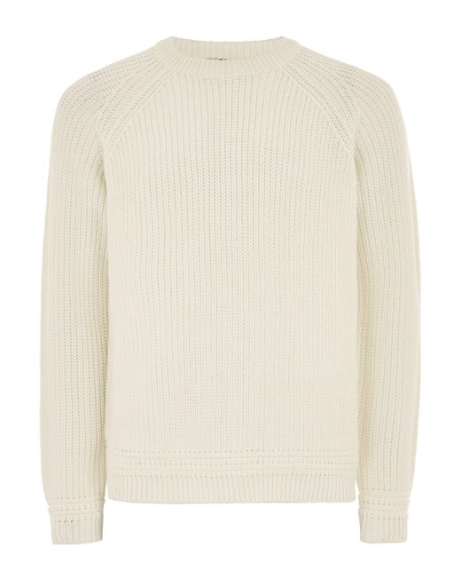 Topman - Multicolor Off White Stitch Sweater for Men - Lyst