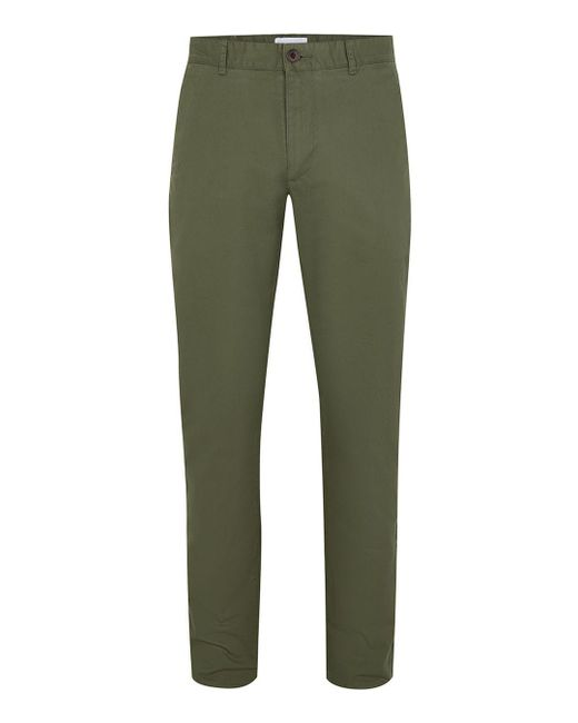 Topman | Farah Vintage Green 'elm' Chinos for Men | Lyst