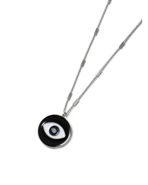 Topman | Black Eye Pendant Necklace* for Men | Lyst
