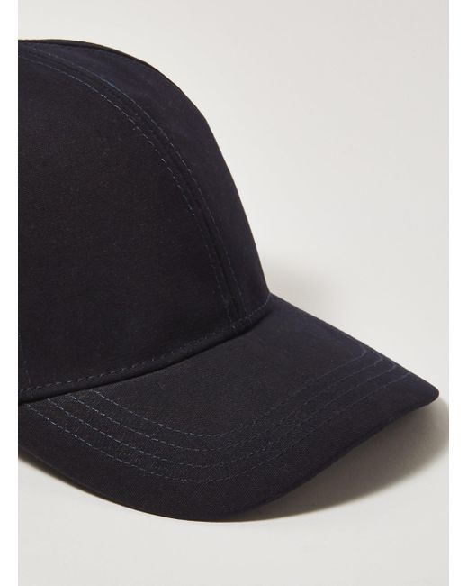 879fbf00a8a ... Topman - Blue Curve Peak Cap With Quilted Lining for Men - Lyst ...