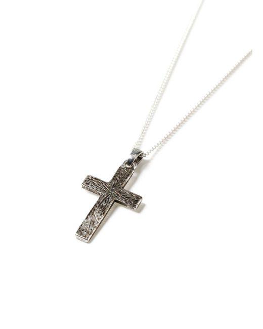 Topman | Metallic Silver Cross Necklace for Men | Lyst