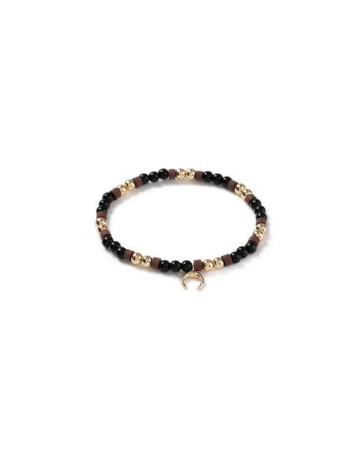 Topman - Brown Moon Bead Bracelet for Men - Lyst