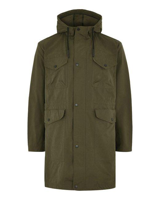 Topman - Multicolor Khaki Parka Coat for Men - Lyst