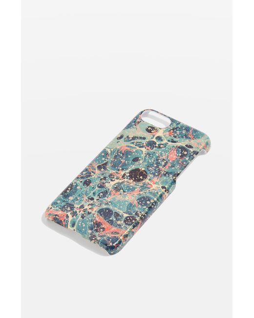TOPSHOP | Multicolor Marble Splatter Iphone 6/7 Phone Case | Lyst