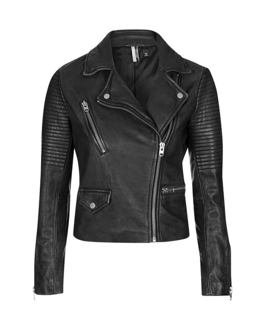 Leather motorcycle jackets have been the cornerstone of protective riding gear since motorcycle jackets for the purpose of protection were introduced many decades ago. A leather motorcycle jacket, just like any protective motorcycle leather, should have at least millimeter cowhide leather and CE-rated shoulder and elbow protection.