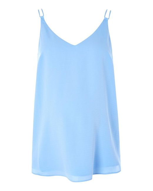 TOPSHOP | Blue Maternity Swing Camisole Top | Lyst