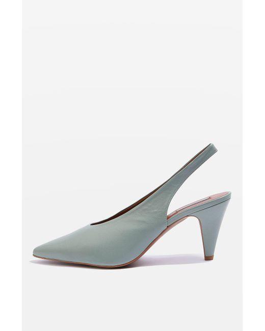 TOPSHOP | Multicolor Jemma Point Mid Heel Court Shoes | Lyst