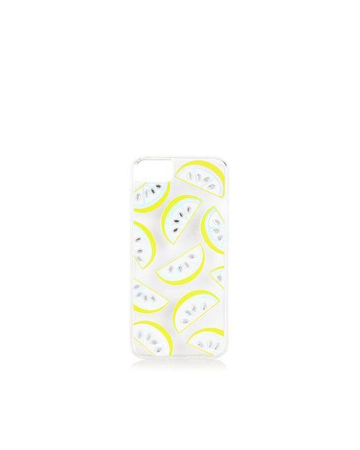 TOPSHOP - Yellow Lemonade Case - Iphone 6 - Lyst