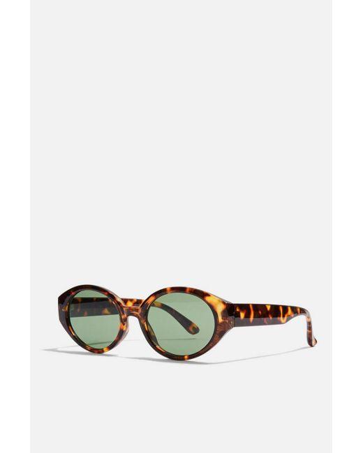 TOPSHOP - Multicolor Selma Lens Cats Eye Sunglasses - Lyst