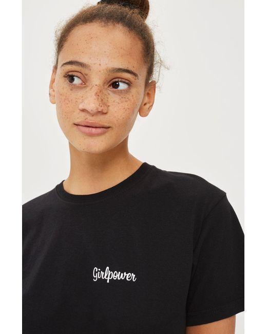 Love | Black 'girl Power' Slogan T-shirt By | Lyst