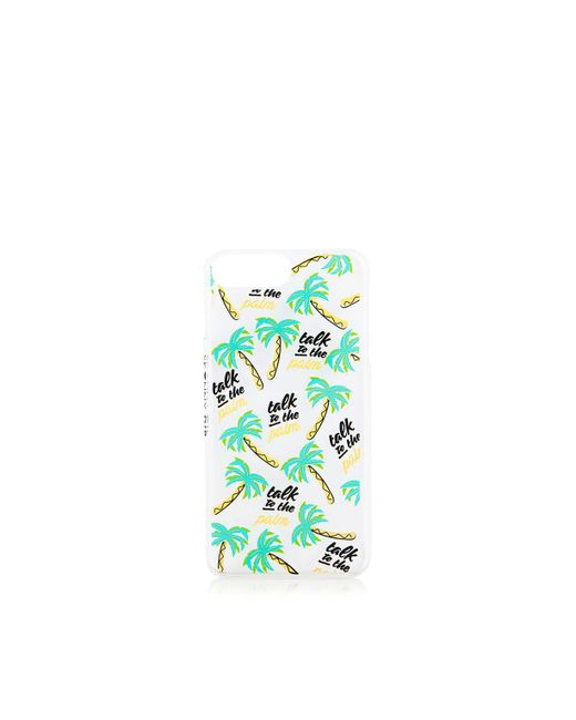 TOPSHOP | Blue Talk To The Palm Iphone 6/7 Case By Skinnydip | Lyst