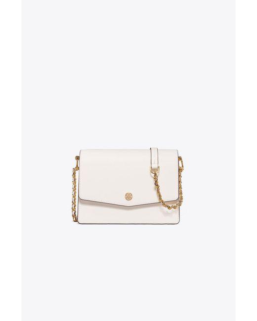 Tory Burch | Pink Robinson Convertible Shoulder Bag | Lyst