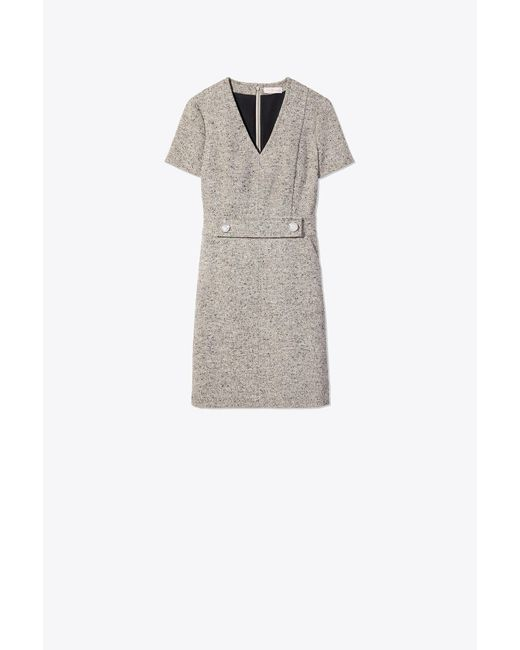 Tory Burch - Gray Priscilla Dress - Lyst