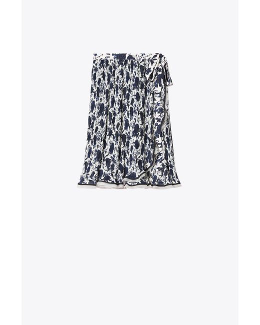 Tory Burch - Multicolor Quincy Printed Skirt - Lyst