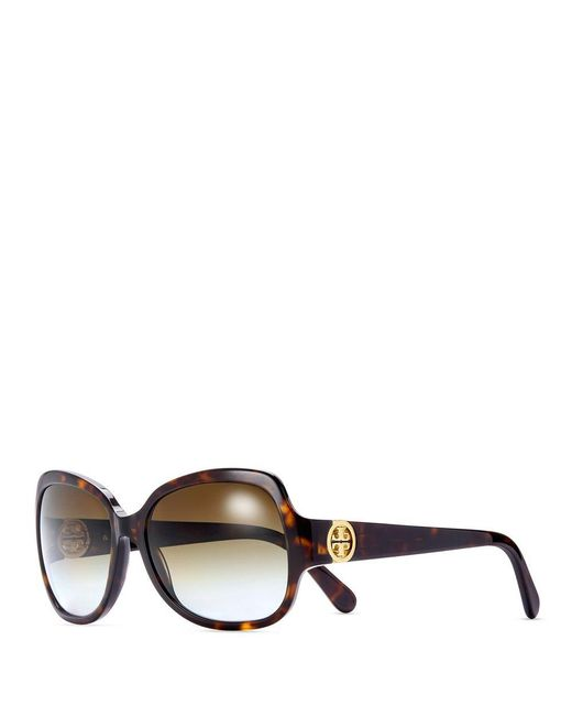 Tory Burch | Brown Butterfly Sunglasses | Lyst