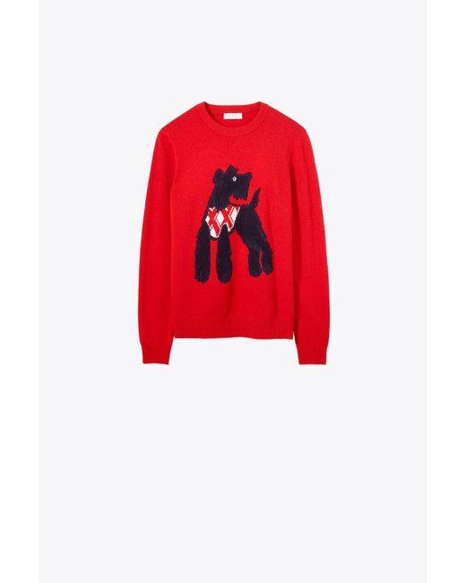 Tory Burch - Red Barkley Sweater - Lyst
