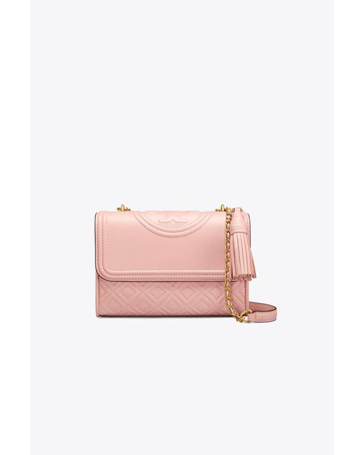 Tory Burch - Pink Fleming Small Convertible Shoulder Bag - Lyst