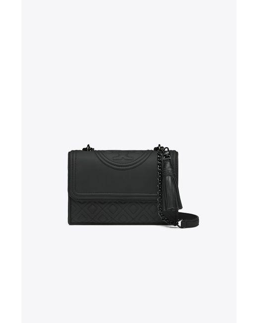 Tory Burch - Black Fleming Matte Small Convertible Shoulder Bag - Lyst