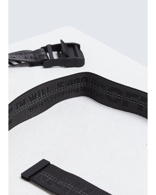 1967e7e10ae6 Off-White c o Virgil Abloh Industrial Belt in Black for Men - Save ...