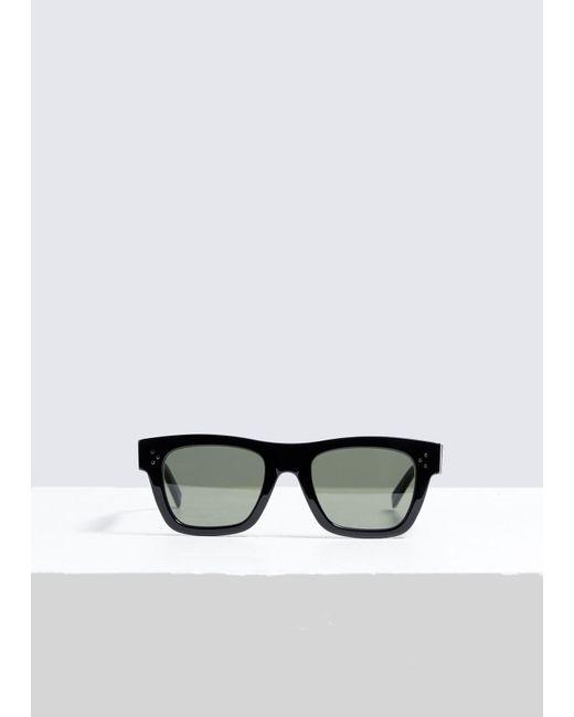 b64256854e5 Céline - Black Square Sunglasses - Lyst ...