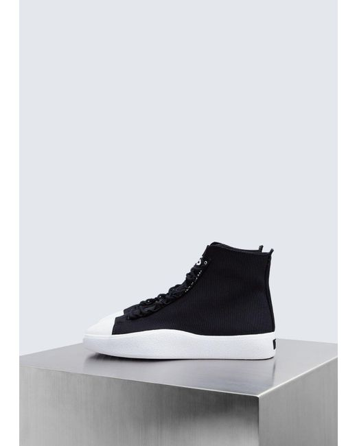 97b3eb31357 Y-3 - Black Bashyo Sneaker for Men - Lyst ...