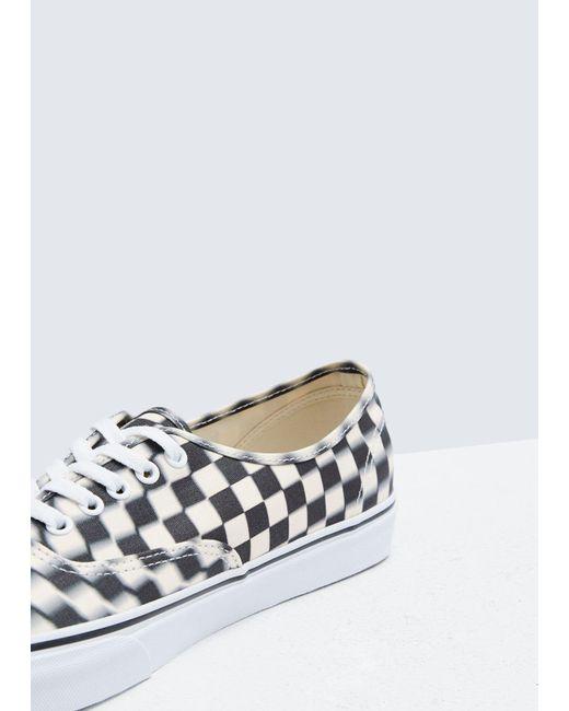 2cef2dbf7460d2 ... Vans - White Authentic Sneaker for Men - Lyst ...