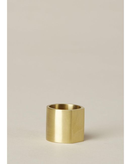 Ming Yu Wang | Metallic Brass Primer Ring | Lyst