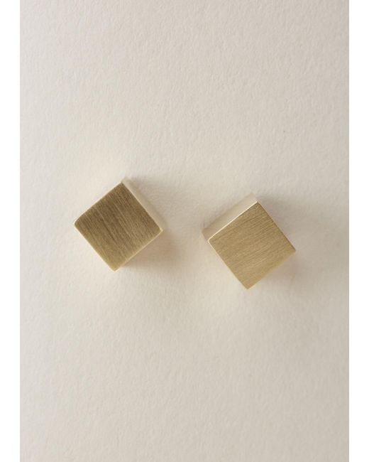 Ming Yu Wang | Metallic Brass Eclipse Earrings | Lyst