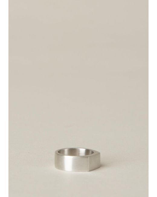 Ming Yu Wang | Metallic Sterling Silver Paradox Ring | Lyst