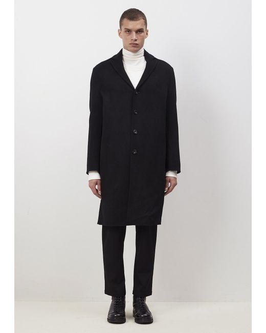 Acne | Black Charlie Coat for Men | Lyst