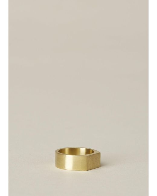 Ming Yu Wang | Metallic Brass Paradox Ring | Lyst