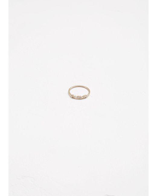 Wwake - Metallic Demi-paired Ring - Lyst