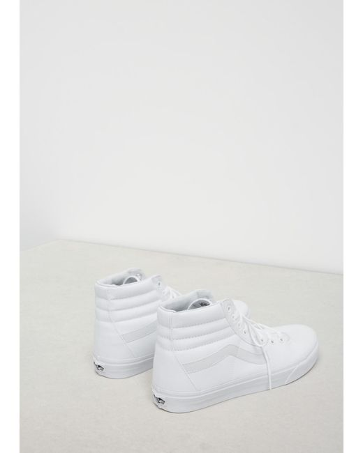 9e38f686ab34d6 Vans True White Men s Ua Sk8-hi Sneaker in White for Men - Save 4 ...
