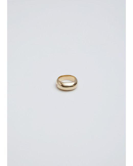 Tom Wood - Metallic Gold Ice Ring Slim - Lyst