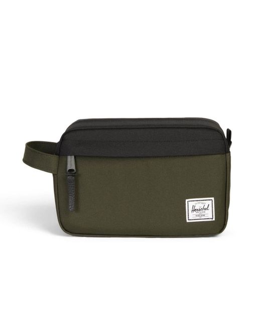 Herschel Supply Co. - Green Chapter Forest Night / Black Travel Kit Bag - Lyst