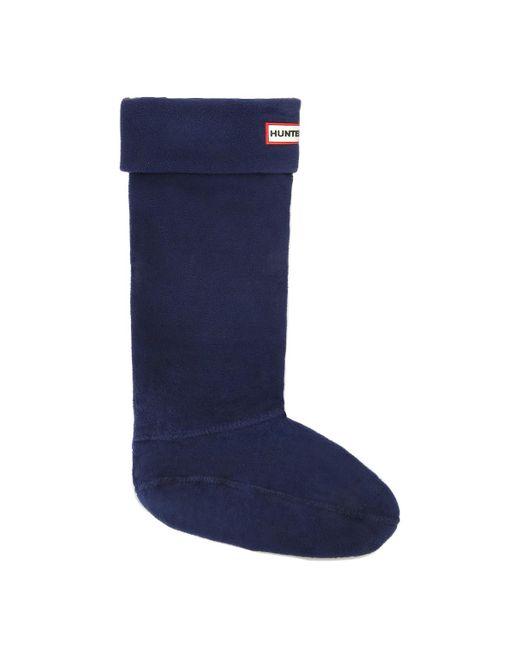 Hunter - Blue Original Navy Welly Socks for Men - Lyst