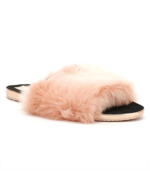 Ted Baker | Womens Pink Pancey Slippers | Lyst